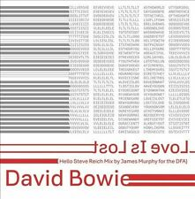 DAVID BOWIE-LOVE IS LOST (HELLO STEVE REICH MIX BY J NEW VINYL RECORD