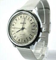 Vintage Soviet RAKETA Cities 24 Hour Dial Russian Rare Men's Watch Polar Retro