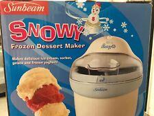 Sunbeam Frozen Dessert Maker