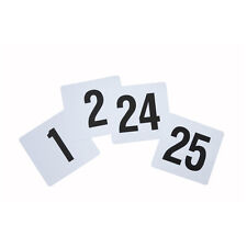 Winco Tbn-25, 4x3.75-Inch Plastic Table Numbers, 1-25 Series