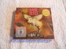 """Mr. Big """"What If ..."""" 2011 cd & DVD ed. Frontiers Rec. NEW Sealed Digipack"""