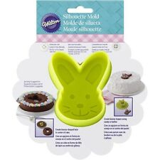 Bunny Head Silhouette Easter Silicone Mold from Wilton #3966 - NEW