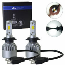 H7 LED Headlight Bulb Conversion Kit High Low Beam 6000K High Power light bulb