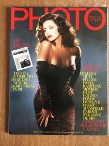 Photo Italia Francesca Dellera Nudo N. 144 Giugno 1987 Rivista fotografica