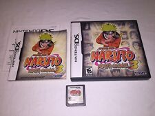 Naruto: Ninja Council 3 (Nintendo DS) Original Release Game Complete Excellent!
