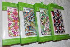 Vera Bradley Snap On Case Cover iPhone 5 Hard shell Protector Buy It Now $9.99