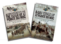 Gary Sterne - The Cover Up at Pointe du Hoc Volumes 1 & 2 - Author Signed