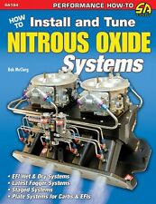 Nitrous Oxide Systems Book/Manual - How to Install & Tune for Engines  - SA194