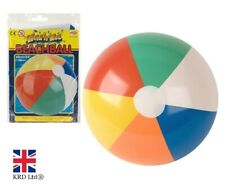 """24"""" Inflatable PANEL BEACH BALL Blowup Holiday Party Swimming Garden Toy NEW UK"""