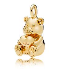 Authentic PANDORA Shine Theodore Bear Necklace Pendant Charm 367237