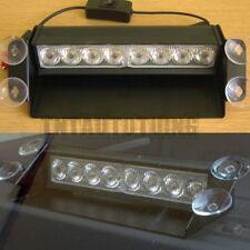 8 LED 12V JAUNE Feux de Penetration Lumière Stroboscopique Pare Brise Universel