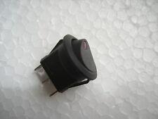 Wippschalter, KFZ Schalter beleuchtet,LED in rot,12V 20A, EIN/AUS