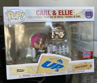 Funko Pop Disney Pixar's UP Carl And Ellie Shared Sticker IN HAND NYCC Fall 2020