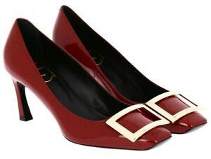 Belle Vivier Trompette Pumps in Patent Leather EU Size 37 RVW40015280D1PR406