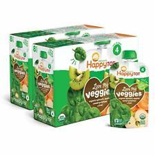 Happy Tot Organic Stage 4 Baby Food Love My Veggies  Sweet Potato & Kiwi,