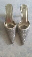 Sequinned shoes size 9