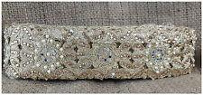 9mtr gold lace border trim saree craft cutwork floral real mirror moti stone