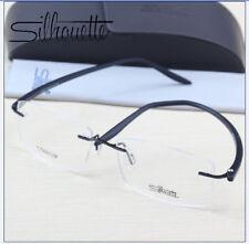 8126 Silhouette Ultra-Light TR90 Titanium Eyeglasses Frame Rimless Glasses Frame