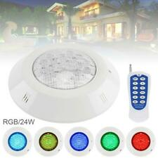 Color-Changing LED Underwater Pool Lights 24W RGB Waterproof IP68 Swimming Light