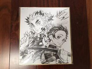 Demon Slayer Kimetsu no Yaiba Movie Limited Shikishi Art Board (Rengoku Tanjiro)