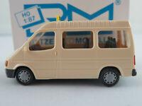 """Rietze 30710 Ford Transit Bus (1994) """"TAXI"""" in hellelfenbein 1:87/H0 NEU/OVP"""