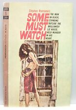 SOME MUST WATCH by Stephen Ransome vintage pb 1963 gc Thriller 1st print.