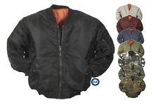 Bomberjacke | US-Fliegerjacke | MA1 Piloten-Blouson | Marke AB 011001 RESTPOSTEN