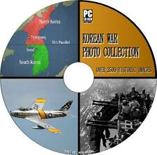 3500+ HISTORIC KOREAN WAR IMAGE COLLECTION PC/CD WEAPONS CONDITIONS BATTLES+ NEW