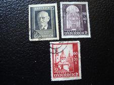 AUTRICHE - timbre - yvert et tellier n° 759 760 763 obl - stamp austria (A3)