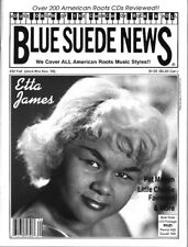Blue Suede News #32 Etta James Gene Vincent Ltl.Charlie