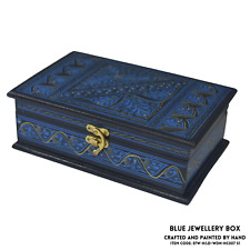 EDOZOS® - Wooden Jewellery Box, Contemporary Style, Handcrafted, Jewellery Box