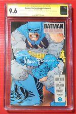 Batman The Dark Knight Returns #2 CGC 9.6 SS Frank Miller/ KLAUS JANSON
