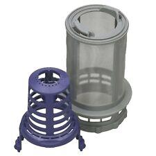 BEKO Genuine 2 Piece Dishwasher Central Drain Filter + Housing Mesh Cover Sleeve