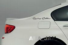 Racing Edition Decal Sticker sport speed car logo emblem sticker BLACK