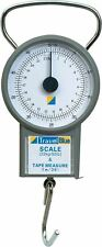Compact Travel Weighing Scales + Tape Measure for Luggage Baggage Suitcase LB/KG