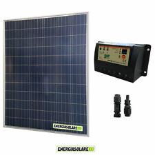 Kit starter pannello solare 200W 12V regolatore di carica 20A PWM epsolar