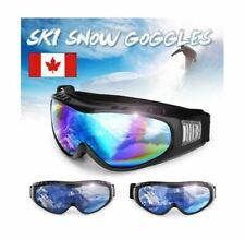 Skiing Snowboarding Goggles Sun Anti-fog UV 400 Snow Ski Adjustabable