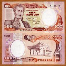 Colombia, 100 Peso Oro, 1983, P-426a, UNC
