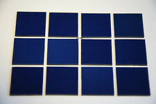 "1118.30 MIDNIGHT BLUE 1/2"" x 1/2"" 3mm BULLSEYE GLASS 90 COE"