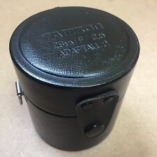 TAMRON 28mm F/2.5 ADAPTALL 2 CAMERA LENS HARD PROTECTIVE CASE - MADE IN JAPAN
