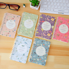 """""""Willow Story"""" 1pc Planner Agenda Scheduler Cute Coil Weekly Journal Notebook"""