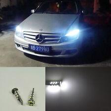 2x Error free led White Parking Position Light For Mercedes W204 C class 08-2014