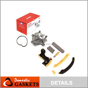 Timing Chain Kit Water Pump Fits 03-05 Mercedes-Benz C230 1.8 Supercharged M271