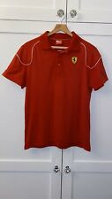 PUMA - Mens Red Scuderia Ferrari Polo T Shirt (Medium) #761027 - Formula 1 / F1