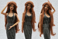 "Sherry Saran Doll Wig for 11.5-12"" FR2/PP Fashion Royalty/Silkstone(5-FW-17"