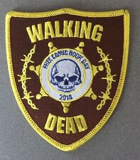 "4"" Walking Dead Free Comic Book Day 2014 Patch"
