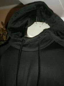 AND1 BLACK PERFORMANCE HOODED SWEATSHIRT SZ: 5XL 5X AND ONE NWT