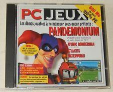 PC Jeux 1997 N°1 600 Mo de JEUX 100% PC Démos jouables : PANDEMONIUM - ATLANTIS