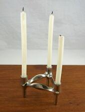 3 eckiger Kerzenhalter, steckbar, 12 x 12 cm