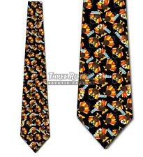 Turkey Ties Men's Thanksgiving Tie Holiday Fun Necktie
